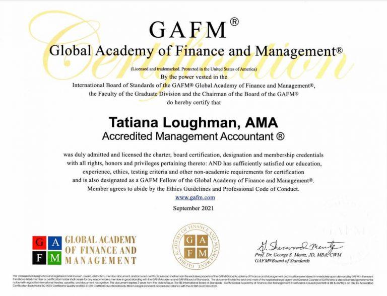 Tatiana Loughman accountant